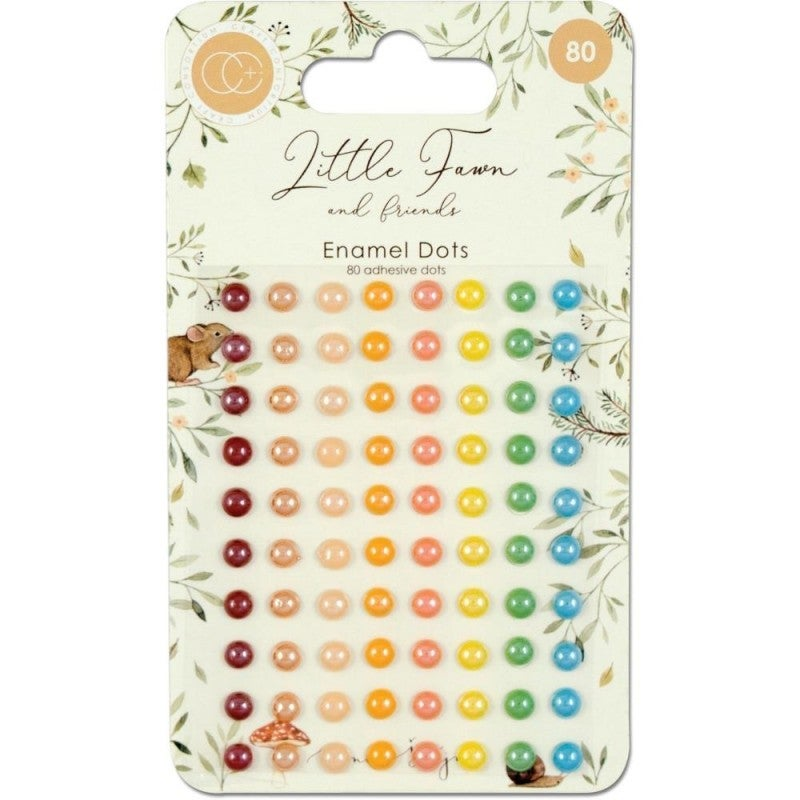Little Fawn and Friends Adhesive Dots