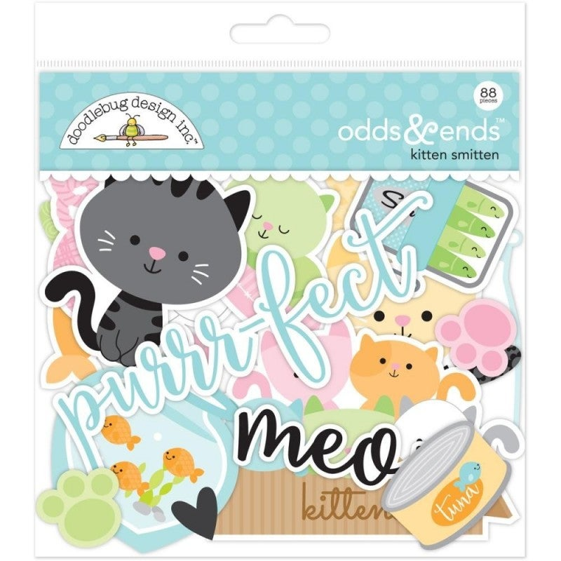 Kitten Smitten Odds and Ends Die Cuts