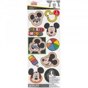 Mickey Head Badges Stickers