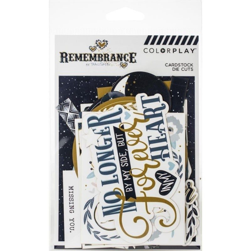 Remembrance Cardstock Die Cuts