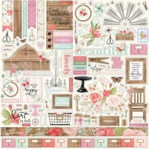 12 x 12 Farmhouse Market Stickers