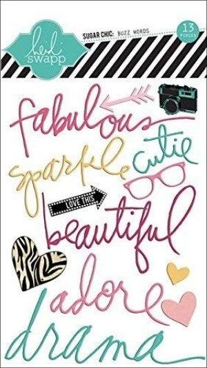 Heidi Swapp Fabulous Stickers
