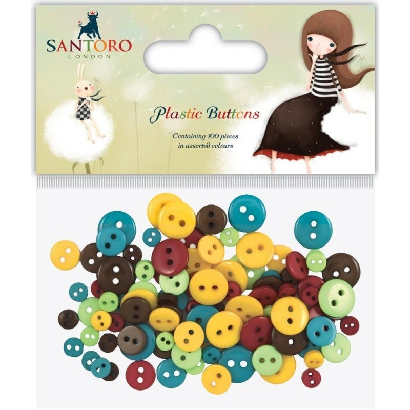 Kori Kumi Assorted Buttons