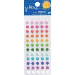 Sun & Fun Puffy Dot Stickers