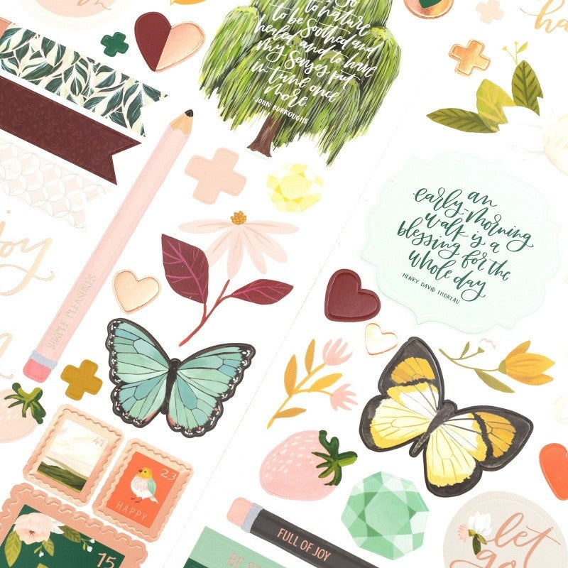 Willow 6x12 Sticker Sheet