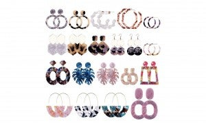 Grab Bag Style Earrings