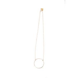 Love, Poppy Short Hoop Necklace