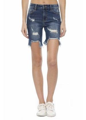 Bella Bermuda Denim Shorts
