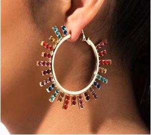 All The Colors Hoop Earrings
