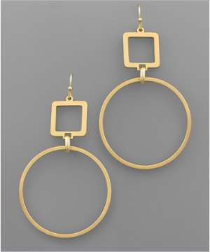 Geometric Delight Earrings