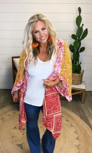World Traveler Kimono