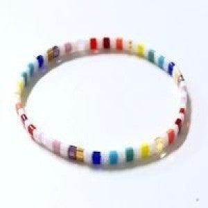 Woven Rice Bead Bracelet