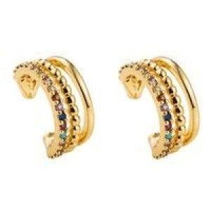 Rainbow Ear Cuffs (set of 2)