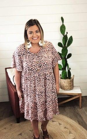 Lindsey Leopard Dress