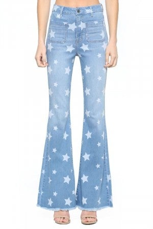 LaLa Star Flare Jeans