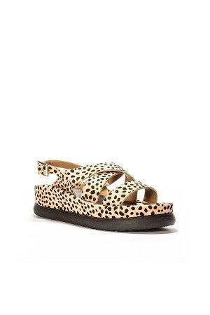 Step Up Leopard Sandals
