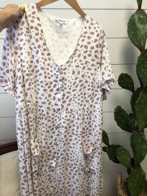 Luna Leopard Dress