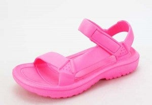 Weekend at the Lake Sandals - Hot Pink