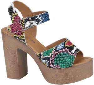 Wild Times Heeled Sandals (RUN WIDE)