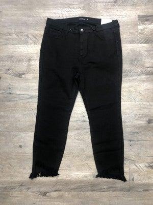 Ebony Cropped Skinny Jeans