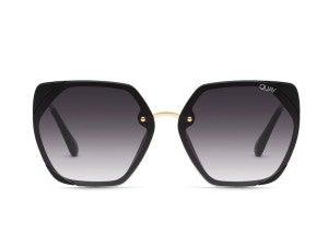 Quay VIP Sunglasses - Black / Smoke Lens