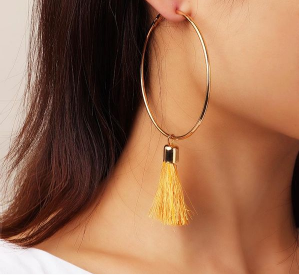 Creative Personality Tassel Earrings