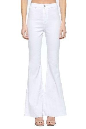 Dare to Flare Jeans - White