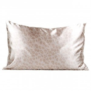 Satin Pillow Case - Leopard