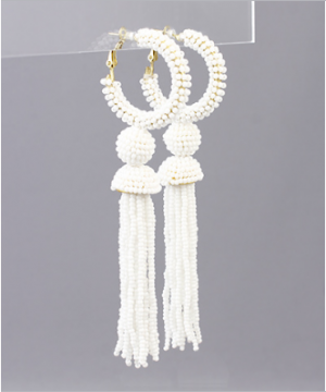 Whip And Go Tassel Earrings