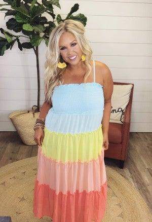 Dream in Color Maxi Dress