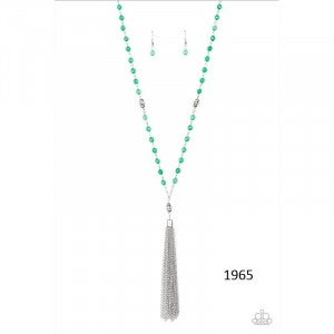Tassel Takeover - Green