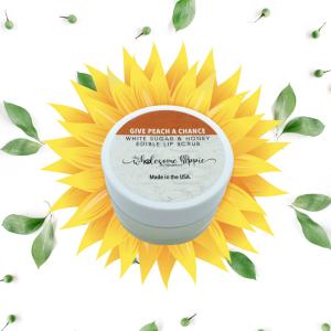 Sugar and Honey Edible Lip Scrub - Give Peach A Chance