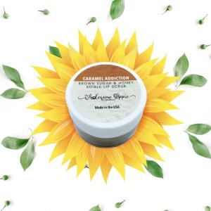 Brown Sugar and Honey Edible Lip Scrub - Caramel Addiction