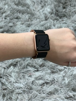 Apple Watch Band - Black Snap Clasp 38MM