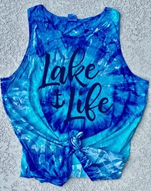Lake Life Graphic Tank