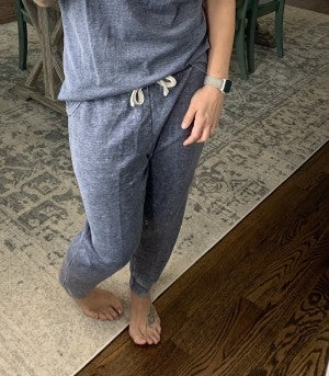 HoneyMe French Terry Navy Joggers