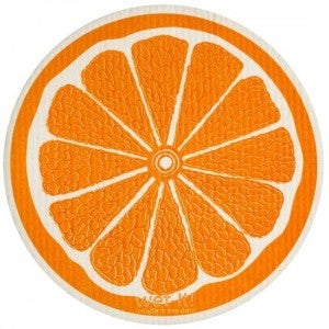 Wet It Cloths | Orange Round Swedish Cloth