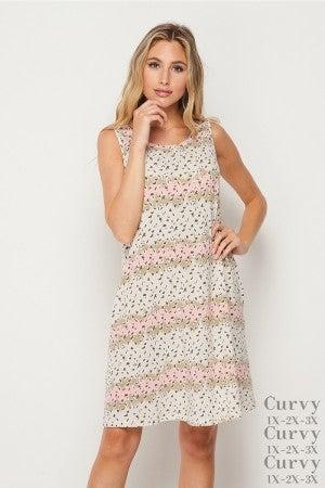 HoneyMe Cheetah Sleeveless Dress