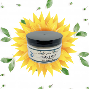4oz Peace Out Pain Rescue Winterfresh - 250