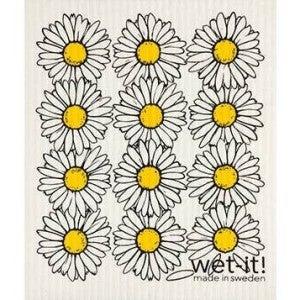 Wet It Cloths | Daisies Swedish Cloth