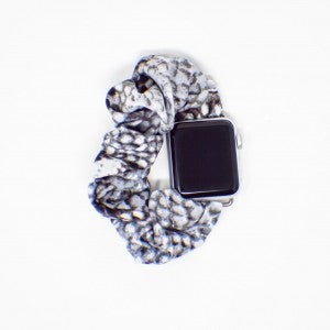 Snakeskin Scrunchie Apple Watch Band - 42/44mm