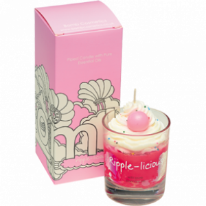 Piped Candle | Ripple-licious