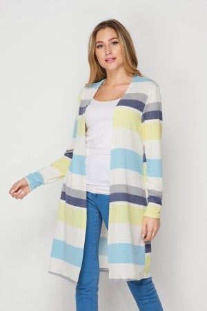 HoneyMe Striped Cardigan