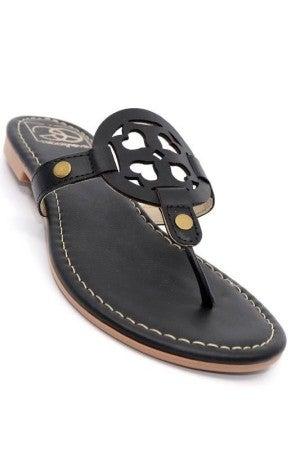 Miami Shoe Black Sandals