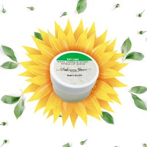 .5 oz Sugar and Honey Edible Lip Scrub - Key Lime