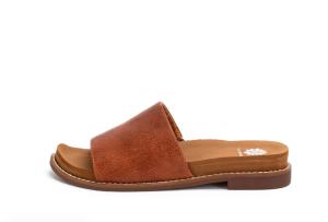 Yellow Box Kalo -  Tan Slide Sandals