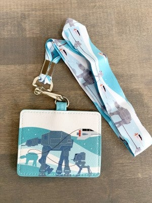 LOUNGEFLY X STAR WARS EMPIRE 40TH LANYARD WITH CARDHOLDER