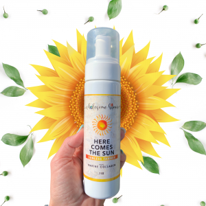 7oz Here Comes The Sun Sunless Tanner with Marine Collagen