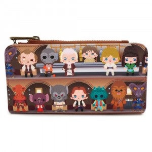 LOUNGEFLY X STAR WARS CANTINA WALLET