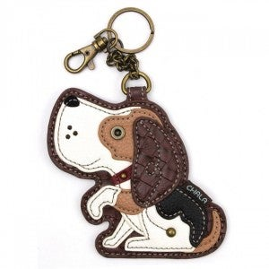 Chala - Dog A - Key Fob/Coin Purse